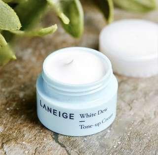 Laneige White Dew Tone Up Cream