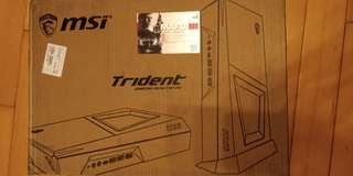 MSI Trident 3 barebone  gtx 1060 6gb