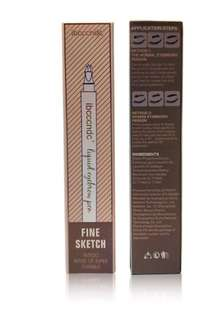 Fork tip Eyebrow Pen