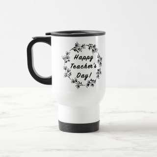 Teachers Day Mug Personalised Gift Customised Name