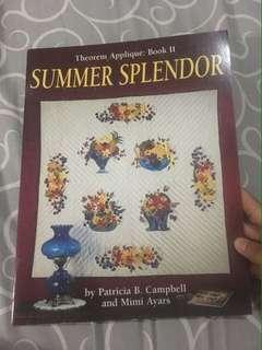 Summer Splendor, Theorem Appliqué: Book II