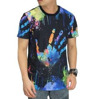 Hand Paint Stains Tee