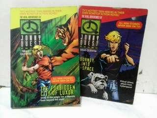 Novel Adventure Jonny Quest (2 in 1)