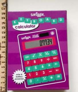 BN Smiggle Keyboard Calculator