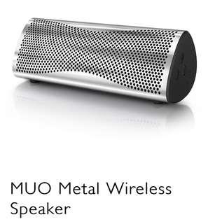 KEF MUO Metal Wireless Speaker 🔊 (正品)