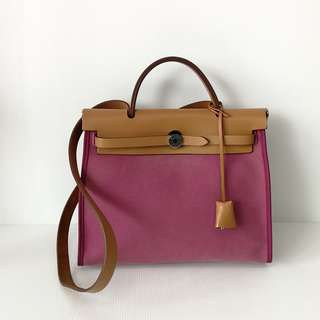 Authentic Hermes Herbag PM 31