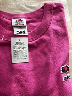 xgirl 女裝短袖T 恤 衫長23.5 寸