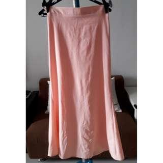 Sarung warna Peach, Oren muda Saiz M/L