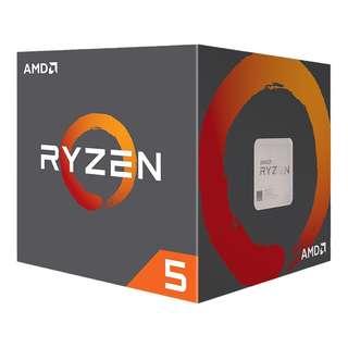 🚚 AMD Ryzen™ 5 2600X Desktop Processor (YD260XBCAFBOX)