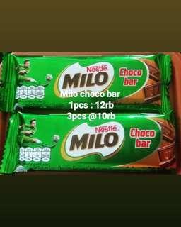 Milo choco bar