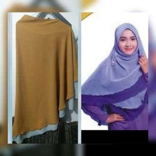 Hijab 2 warna