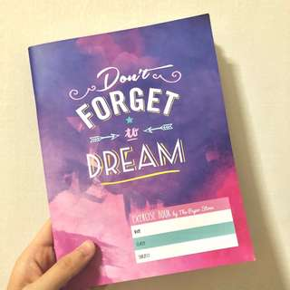 [INSTOCK] Don't Forget to Dream - The Paper Stone Notebook