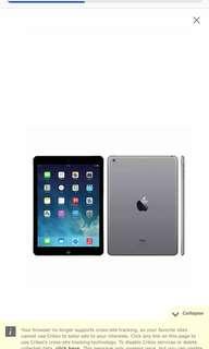 BNIB iPad 5th gen Wifi 32gb