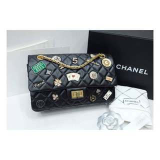 Authentic Chanel Reissue 225 Lucky Charm