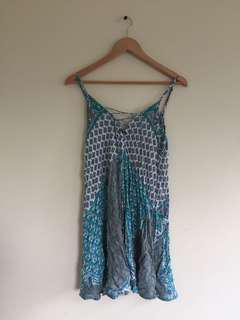 Reversible summer dress