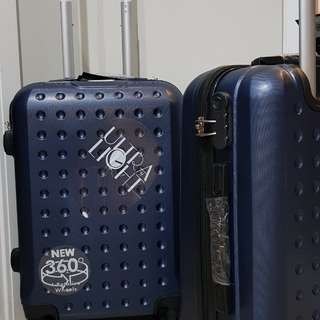 """Koper Hardcase Cabin Size 20"""", Special Edition Navy Polo Twin"""