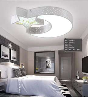 Designer LED ceiling light with remote control