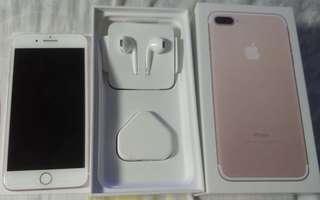 iPhone7Plus 32GB 玫瑰金🍎📱(代友放,非誠勿擾,可小議)