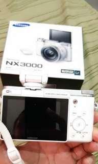 Samsung nx3000 fullset