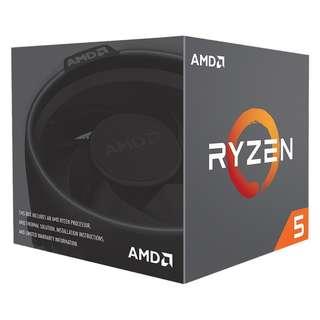 🚚 AMD Ryzen™ 5 2600 Desktop Processor (YD2600BBAFBOX)