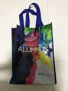Brand new NUS Proud to be Alumnus Tote Bag waterproof Shopping Bag