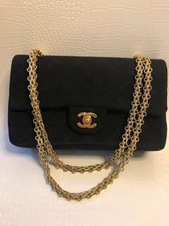 Chanel vintage bag cotton