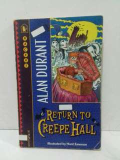 Novel Return to Creepe Hall