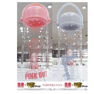 Japan Quality Miniso - Botol Minum Pink Panther Water Bottle