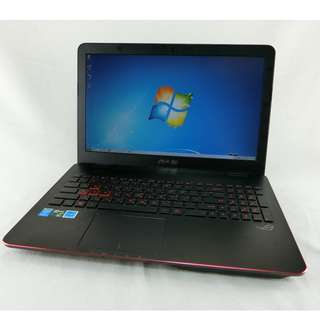 ASUS G551JM 15.6吋電競筆電│i5-4200H、8G、1TB、GTX860M 2G獨顯