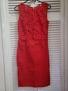 Lace dress Red 8