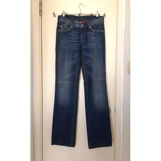 PRADA    Ladies Jeans  女裝 鬆脾 直腳 牛仔褲     @Made in Morocco摩洛哥製造