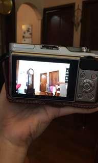 Fujifilm xa3 pink lensa 16-50mm