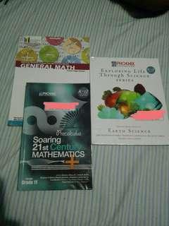 Senior High G11 books on SALE