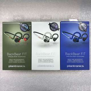 BNIB Plantronics Backbeat Fit (> 40% off)