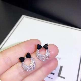 Chanel 蝴蝶結耳釘