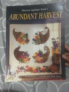 Abundant Harvest, Theorem Applique: Book I