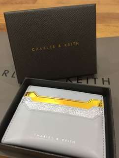 Authentic Charles & Keith cardholder