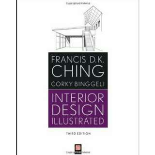 Interior design illustrated by Francis Ching