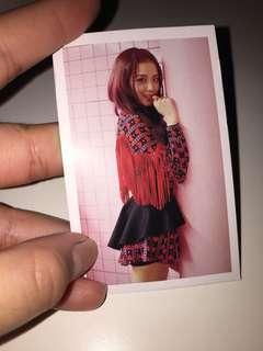 blackpink jisoo card ( as if it's your last MV )