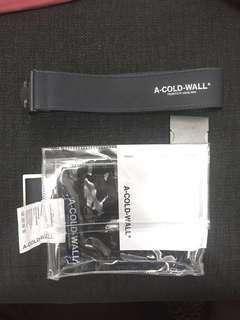 A Cold Wall ACW bag 透明袋