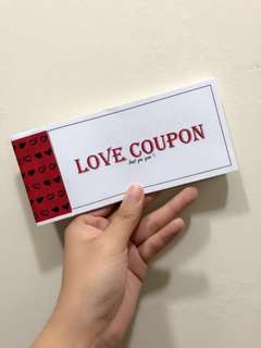 Love Coupon Book - Minimalism