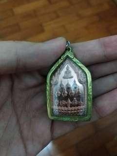 Special Lord Buddha Lang 12 Phra Lersi Magic Amulet