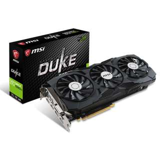 🚚 MSI GeForce® GTX 1080 Ti DUKE 11G OC