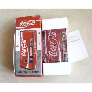 90年代產品可口可樂Vending Machine造型收音機一部