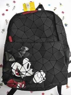 Disneyland Polygo bag Micky Mouse Alien Stitch 迪士尼 米奇老鼠 三眼仔 史迪仔 背囊