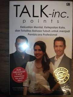 Talk. Inc Points - panduan untuk Pembicara Profesional