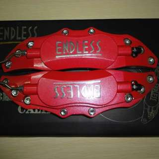 ENDLESS Brake Caliper Cover RED (ALLOY MADE - Very Strong)