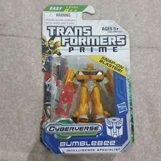 "Legit Brand New With Box Hasbro Transformers Prime Cyberverse Bumblebee 2.5"" Toy Figure"