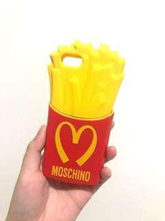 moschino case fries type iphone 5s