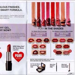 Gel lipstick Matte and luminous